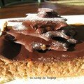 Tarte aux noix et chocolat
