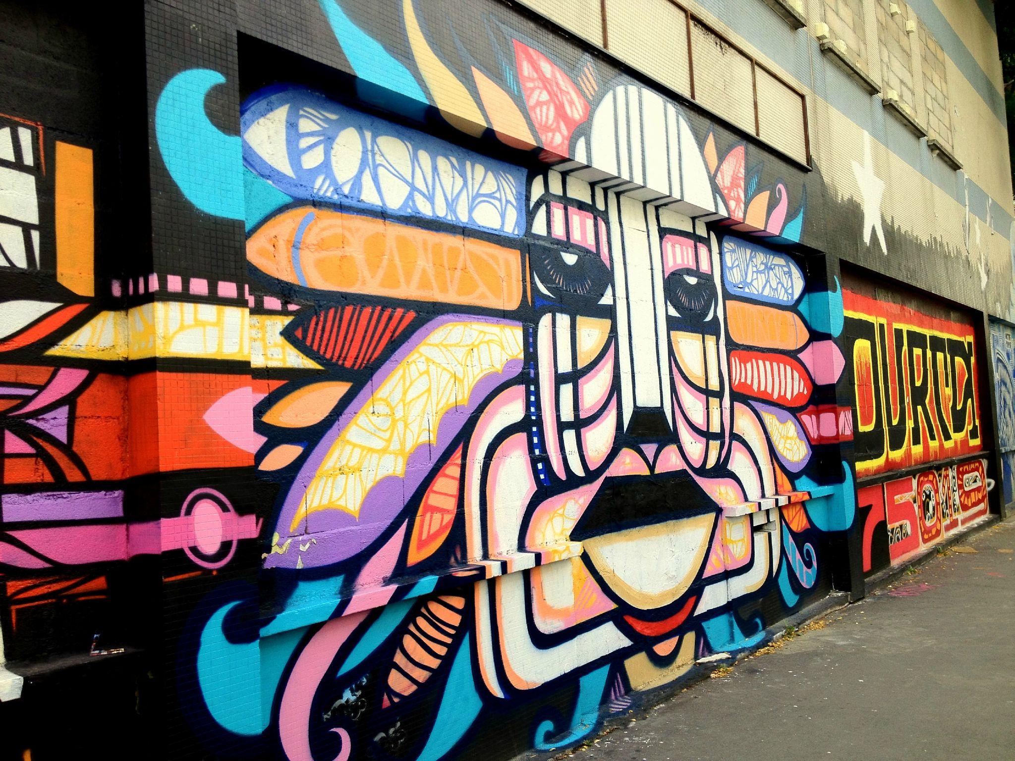 The dirty side of the street caravan palace la pause street art du week end paris en images - Expo street art paris ...