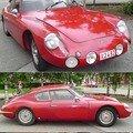 PORSCHE - Apal coupé - 1957