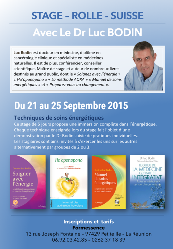 Affiches Luc BODIN Stage Rolle