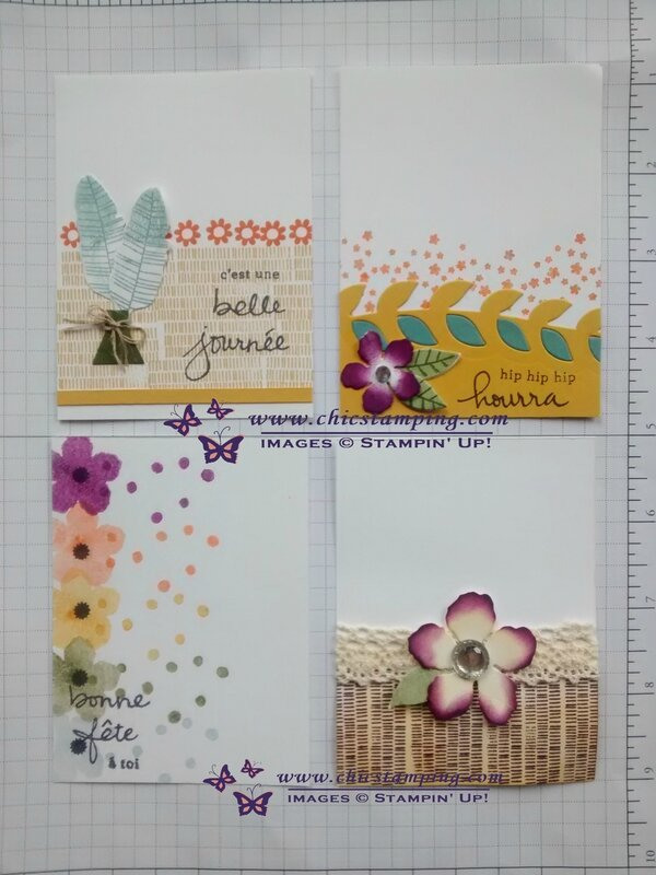 DIY project life card series bontanical bloom #0