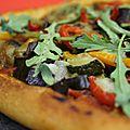 Pizza aux legumes du soleil