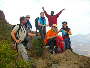 just done all the trekking in ethiopie