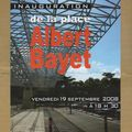 Inauguration de la nouvelle place albert bayet
