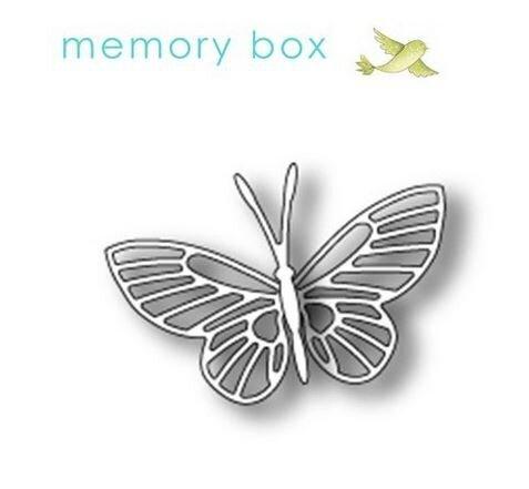 die memory box kaleidoscope butterfly
