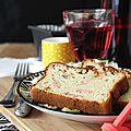 La recette du cake salé au saumon fumé tout gonflé, tout doré