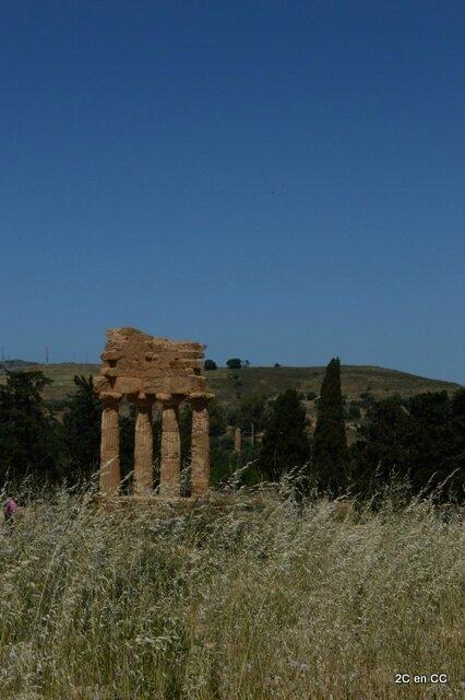 Temple des Dioscures - Vallée des Temples - Agrigente - Sicile