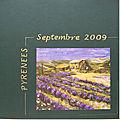 Les Pyrénées en 2009