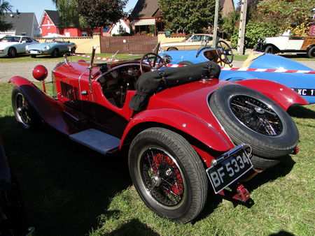 ALFA ROMEO 6C 1750 Roadster 1929 1933 Randonnee des Vendanges de Rustenhart 2010 2