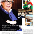 Le visionnaire ... Serge Bensimon