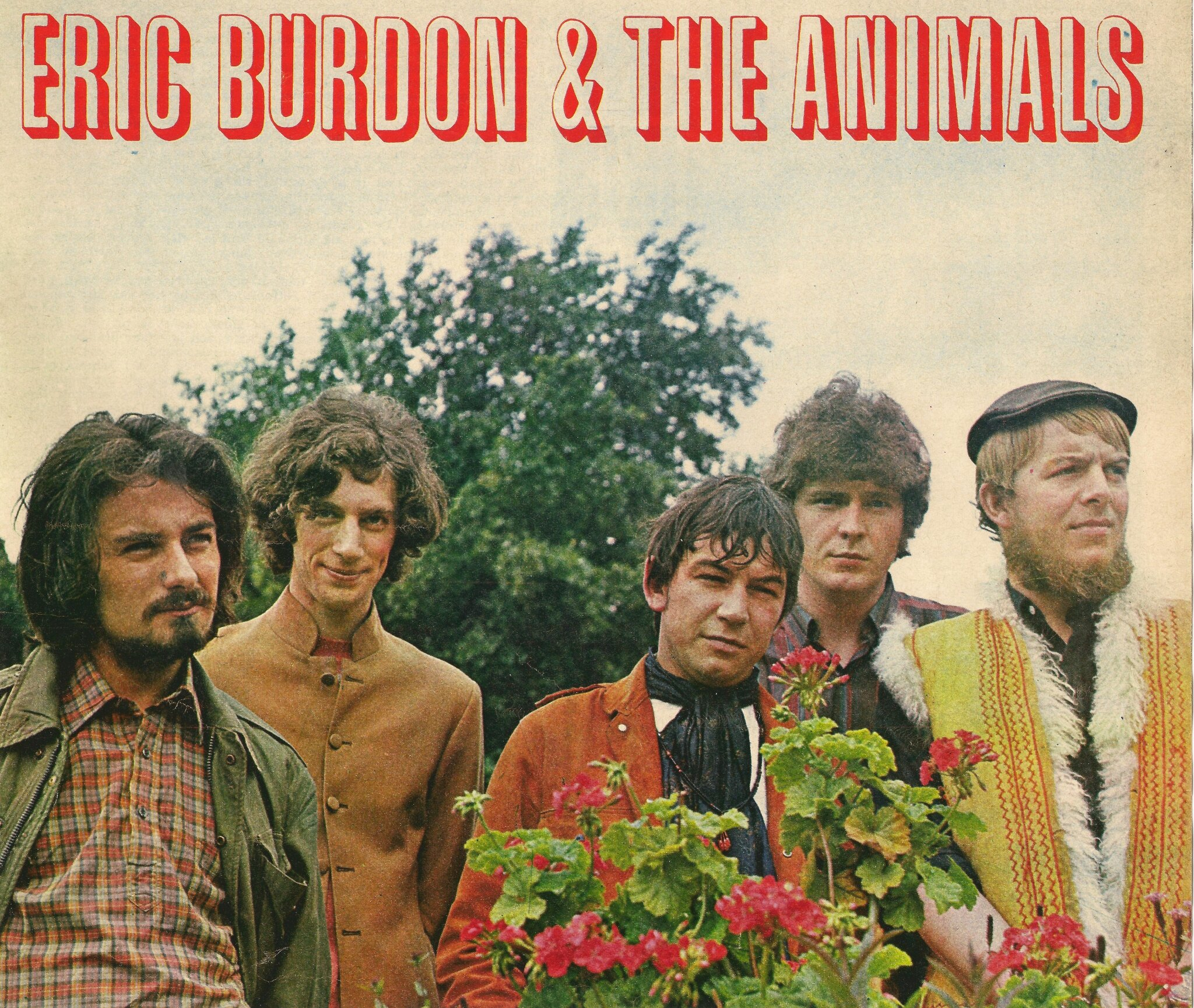 PHOTO Eric Burdon & The Animals 1967