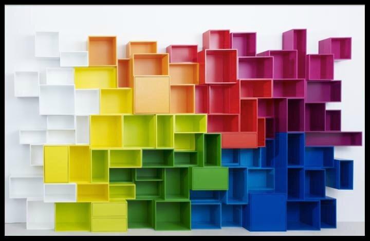 etag res modulables de rangement multicolores cubit le blog de moon. Black Bedroom Furniture Sets. Home Design Ideas