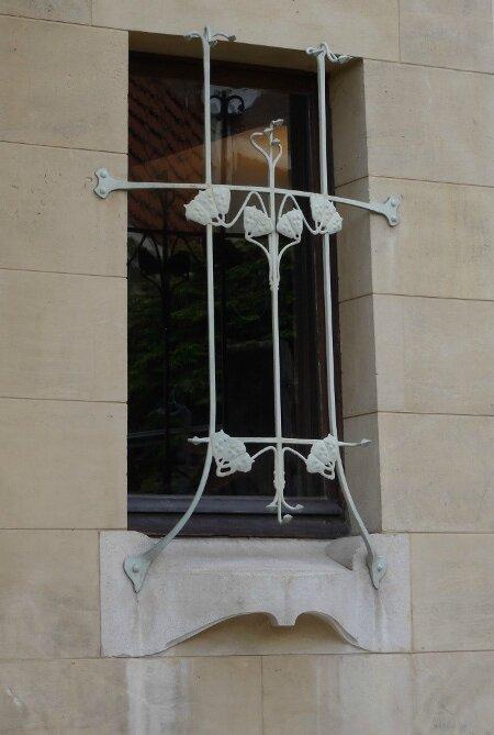 Villa Majorelle petite fenêtre