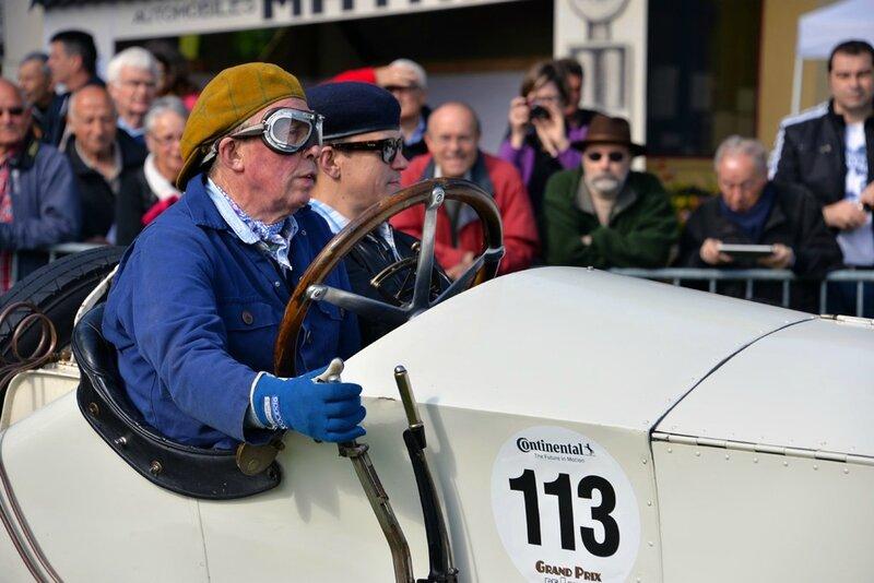 113-Mercedes Daimler Rennwagen - 1913