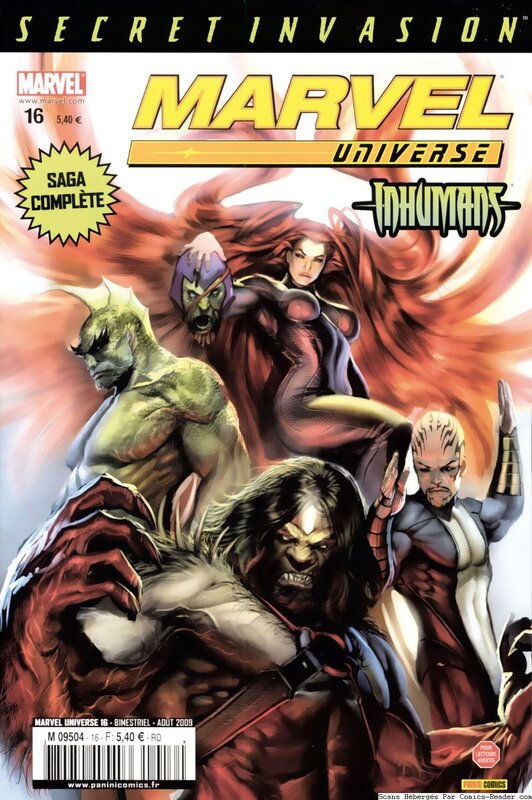 marvel universe 16 inhumans