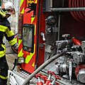 Les pompiers de Dole ne chment pas aux Mesnils-Pasteur