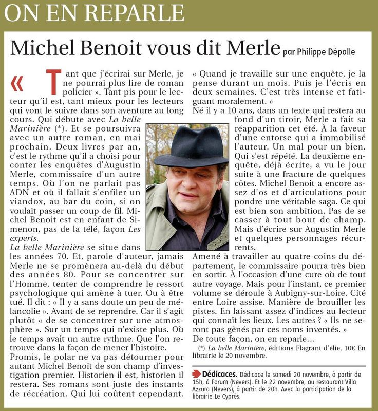 Article du Journal du Centre