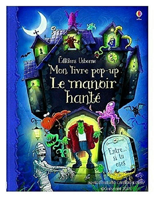 LIVRE POP UP Le manoir hanté USBORNE