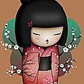 Kokeshi doll peyote