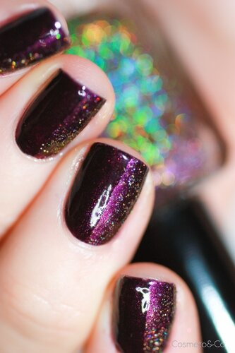 nail art FUN Lacquer Celebrate H Bourjois Prune Stellaire-3