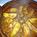 Tajine boulettes batata