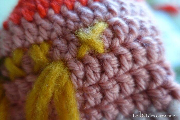 116 Blog Cocon Bébé Laine Crochet Azthèque Tribal Motif