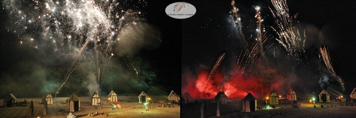 EAUZE_FESTIVAL_GALOP_ROMAIN_2015_spectacle_pyroscenique_les_contes_magiques_d_Ellwyn_le_feu_d_artifices_final