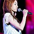 Jolin at the Yangtze River International Music Festival in Zhenjiang