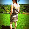 Celle qui se faisait une garde robe d'été ... #9 [duo couture]