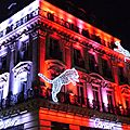 Maison Cartier illumine pour Nol 2012