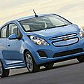 Les dtails de la Chevrolet Spark EV lectrique 2014 (CPA)