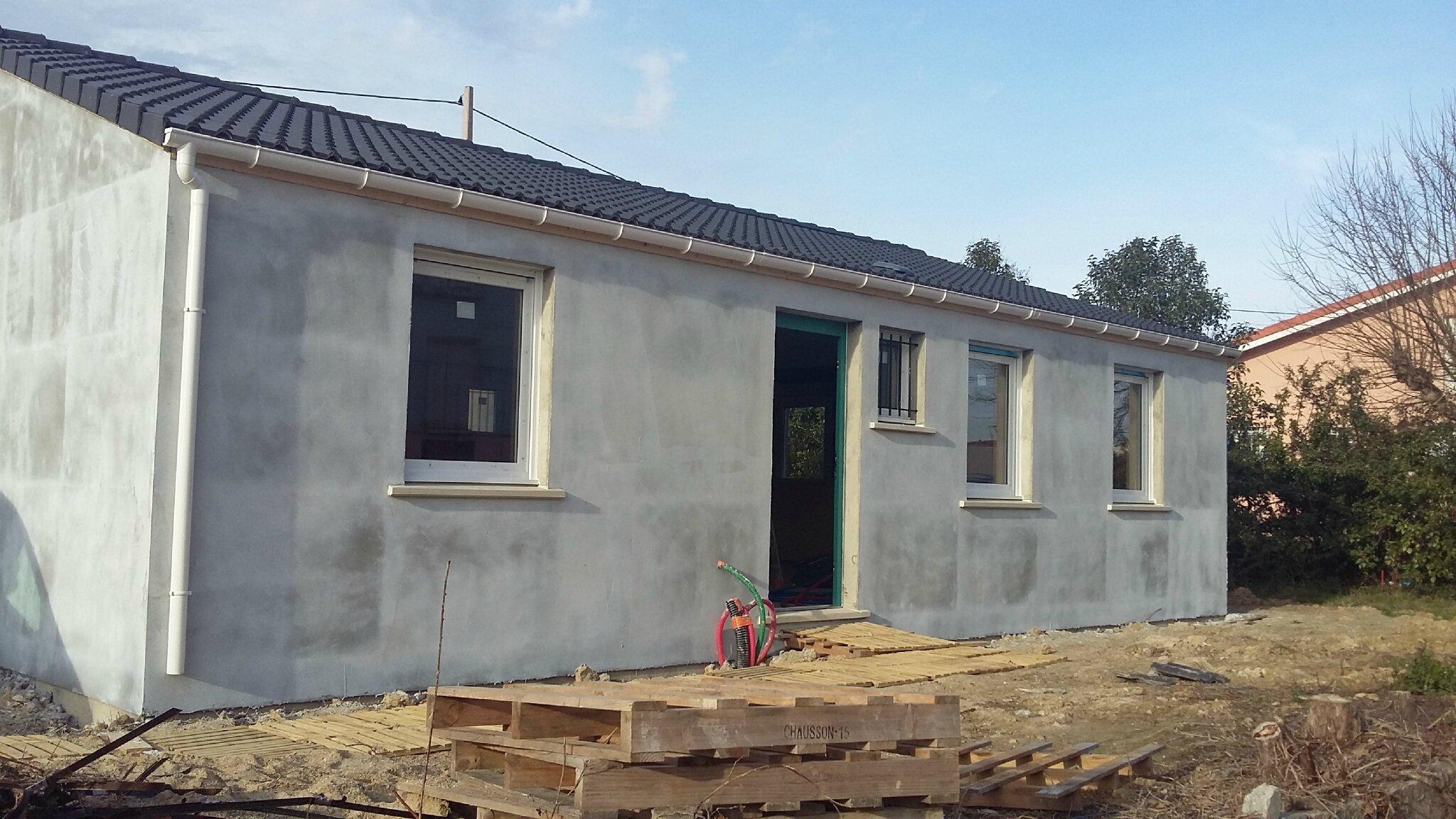 Maison ferm e construction de notre maison ph nix welcome for Budget construction maison par poste