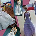 2012-08 Robes barbie au Crochet