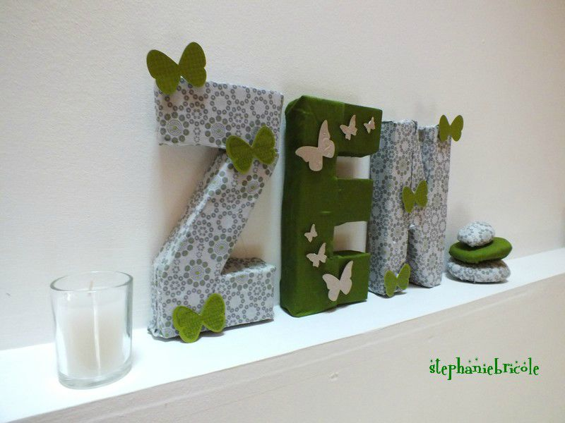 Diy id e de d co zen faire soi m me cartons galets - Set de table pour noel a faire soi meme ...