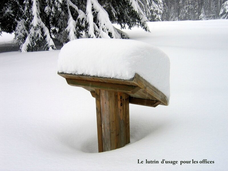 guy lesart photo 4 lutrin pour l-office d-hiver2 (2)