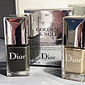Golden jungle de dior