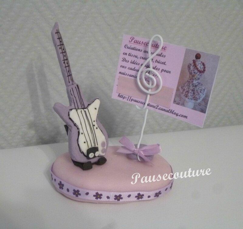 porte photo guitare B1