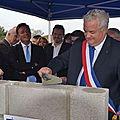 le Chaudron, pose de la 1ère pierre le 28.09.2013