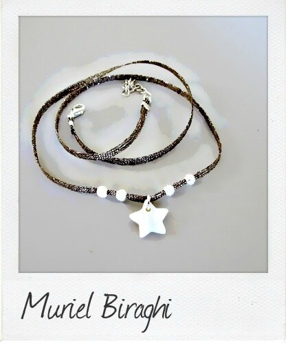 Bracelet/Collier Twinkly Star & Billes