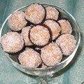 Mokas irrésistibles à la noix de coco