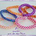 Diy : faire des bracelets avec des élastiques *** video inside !!! ***