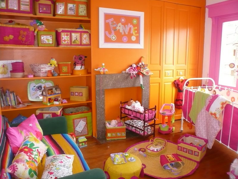 Emejing Chambre Fushia Orange Photos - Design Trends 2017 ...