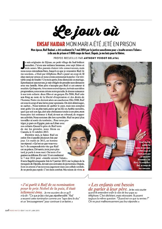 arabie saoudite-Paris Match Juin 2015