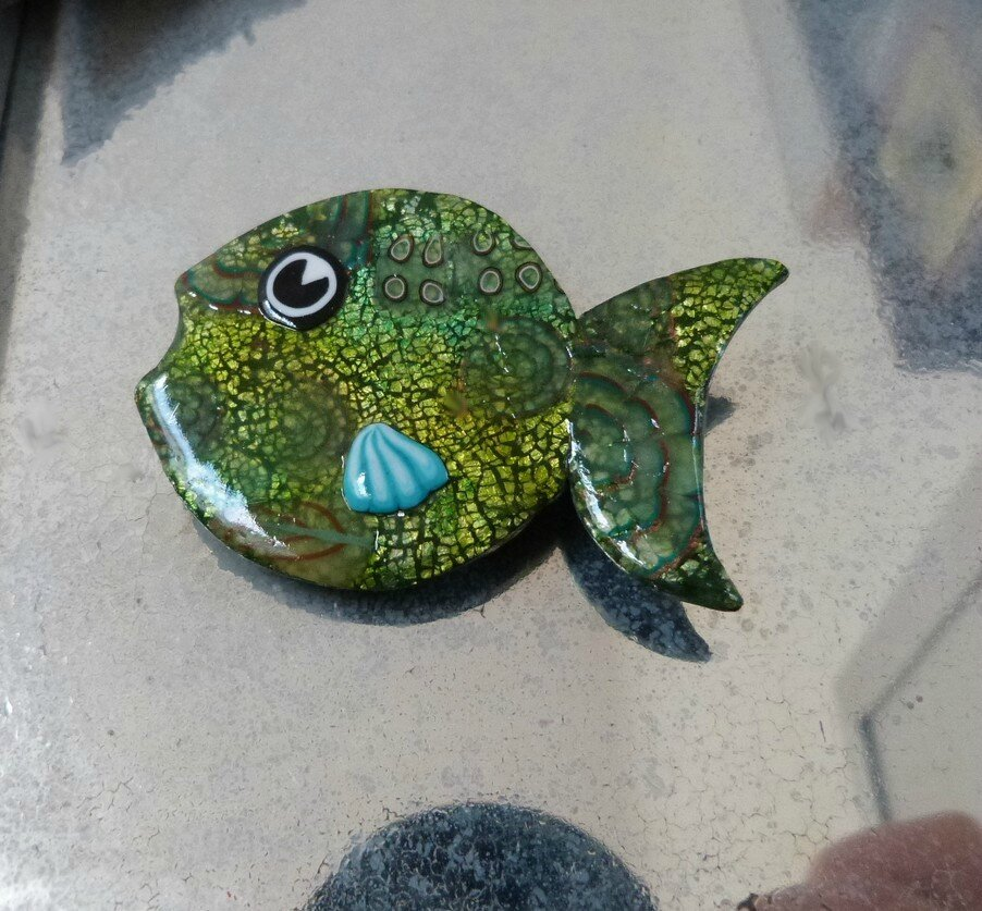 poisson vert- 1