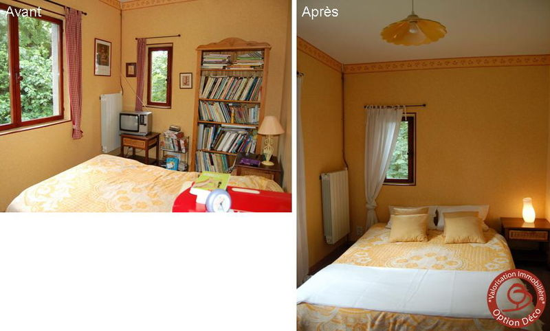 chambre avant apr s photo de home staging avant apr s option d co le mag. Black Bedroom Furniture Sets. Home Design Ideas