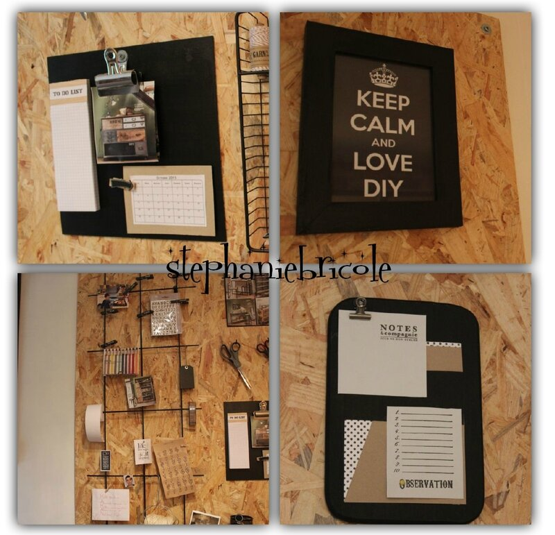 diy d co rangement panneau mural en osb st phanie bricole. Black Bedroom Furniture Sets. Home Design Ideas
