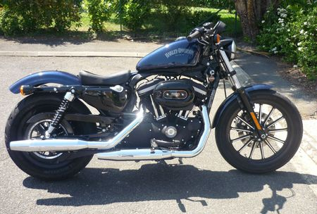 Harley Iron 883 Selle Forty Eight D