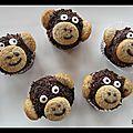 Cupcakes singes