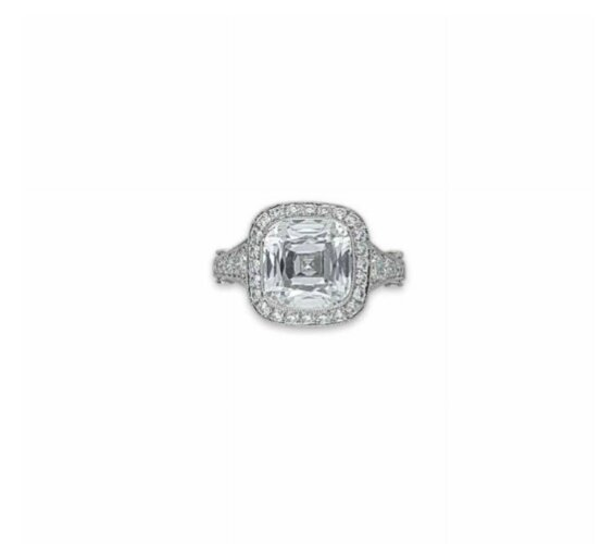 A diamond ring, by Tiffany & Co.
