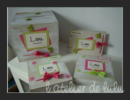 Decoration bapteme originale tous les messages sur for Idee deco urne bapteme